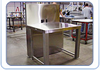 Custom Stainless Steel Work Station Equipment